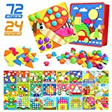 Gxi Button Art Toys Crafts for Toddler...