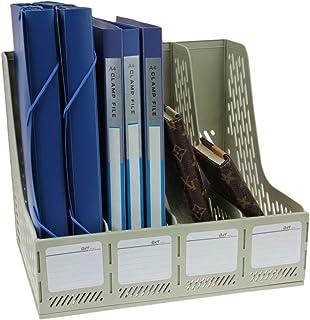 Boîte De Rangement Module De Classement En Polypropylène Rangement de Dossiers Classement de Magazine Document Stockage Po...