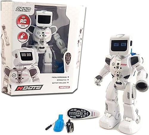 tomamos a los clientes como nuestro dios Outletdelocio. Robot radiocontrol con luces Ninco Droid NT10040. NT10040. NT10040. Movimiento y expresiones faciales  Vuelta de 10 dias