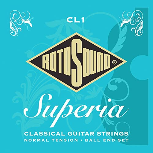 Rotosound Superia Classical Nylon Ball End Silver Wound Set