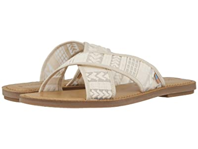 TOMS Viv (Natural Arrow Embroidered Mesh) Women