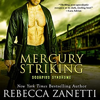 Mercury Striking audiobook cover art