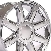 OE Wheels 20 Inch Fits Chevy Silverado Tahoe GMC Sierra Yukon Cadillac Escalade CV85 Chrome 20x8.5 Rim Hollander 5304