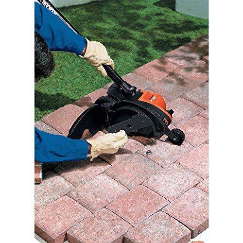 BLACK+DECKER LE760FFAM Landscape Edger (contains LE750, EH1000 blade, and EB-007), Black/Orange