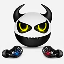 Wireless Earbuds,Bluetooth Earbuds with Mic IPX5 Sweatproof 36H Playtime Music Super Cute Cow Design Wireless Earphones fo...