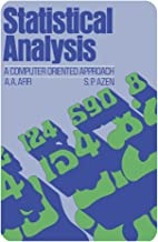 Statistical Analysis: A Computer Oriented Approach