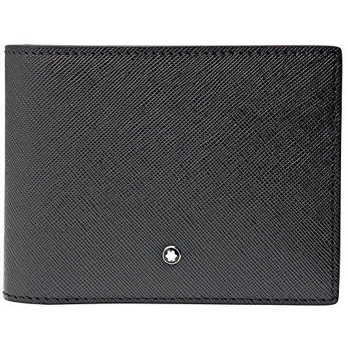 Montblanc Montblanc Sartorial Kreditkartenhülle, 12 cm, Schwarz