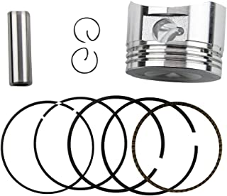 GOOFIT 52.4mm Bore Piston Rings Assembly for 110cc Taotao Roketa Sunl Coolster SSR Dirt Bikes Go Karts ATV