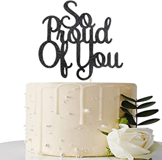 So Proud of You Cake Topper - 2020 Graduation Party Decorations - Graduation Cake Topper - Congrats Grad Party Decorations...