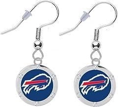 Buffalo Bills Crystal Earrings