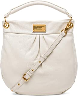 Marc Jacobs Classic Q Hillier Hobo Bag in White Birch