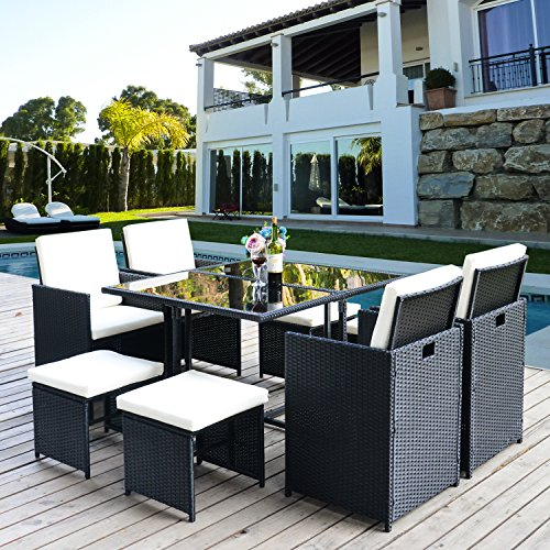 Poly Rattan Lounge Gartenmöbel Set Sitzgruppe kaufen  Bild 1*