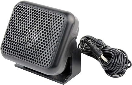 NSP-100 Mini altoparlante esterno 3.5mm Compatibile per Yaesu Kenwood ICOM Motorola Ham Radio Florallive - Trova i prezzi più bassi