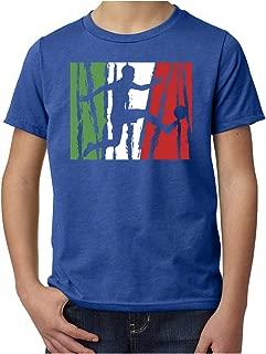 Mato & Hash Italian Soccer Pride T-Shirt, Italy Soccer Shirt, Youth Soccer Shirts