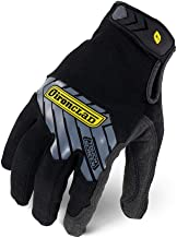 Ironclad Command Pro Work Gloves; Touch Screen Gloves Conductive Palm & Fingers, All-Purpose, Performance Fit, Machine Was...