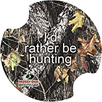 Thirstystone Break up Mossy Oak I'd Rather be Hunting Car Cup Holder Coaster, 2-Pack [並行輸入品]