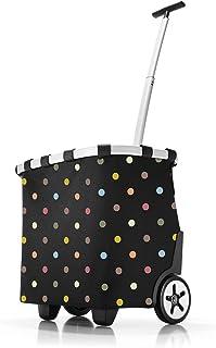 Reisenthel carrycruiser Bolsa de Cuerdas para el Gimnasio, 47 cm, 40 Liters, Negro (Dots)