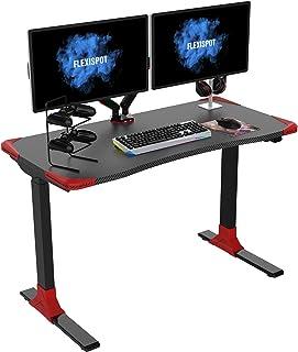 FLEXISPOTゲーミングデスク電動式スタンディングデスク パソコンデスク 組立簡単 GD9E
