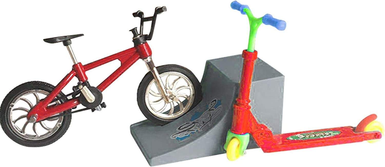 BEYST Mini Finger Sports Set,Educational Toy Fun Bike Scoot
