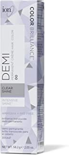 Ion Intensive Shine 00 Clear Demi Permanent Creme Hair Color 00 Clear