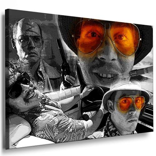 Boikal / Leinwand Bild Fear and Loathing In Las Vegas Film Leinwanddruck, Kunstdruck fm18 Wandbild 70 x 50 cm