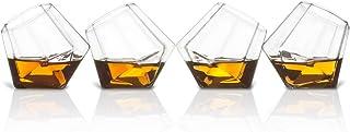 ThumbsUp! SO-DIASHT4 Diamond Shot Gläser 4er Set, durchsichtig