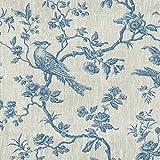 Textiles français Leinenstoff | Die hoheitsvollen Vögel