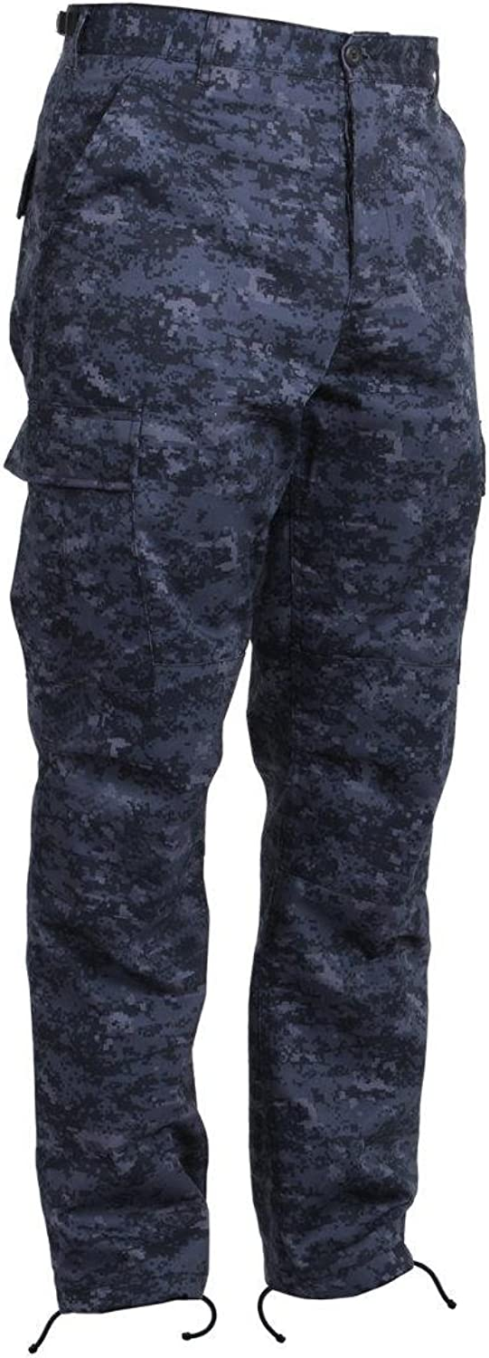 Redhco Tactical BDU Pants, Midnight Digital Camo, Small