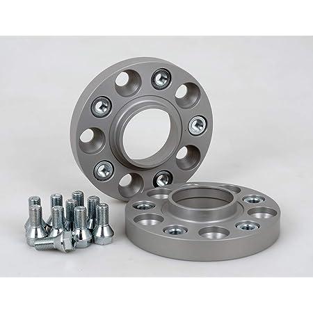 Spurverbreiterung Aluminium 2 Stück 20 Mm Pro Scheibe 40 Mm Pro Achse Inkl TÜv Teilegutachten Abe Auto