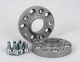 Spurverbreiterung Aluminium 2 Stück (20 mm pro Scheibe / 40 mm pro Achse) inkl. TÜV Teilegutachten & ABE