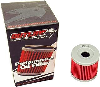 Outlaw Racing Orf139 Performance Oil Filter Arctic Cat Dvx 400 Kawasaki Klx400R Suzuki Dr-Z400S Yamaha YZ250F Replaces Kn139