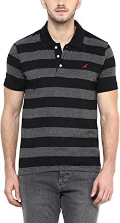 AMERICAN CREW Men's Cotton and Polyester Polo