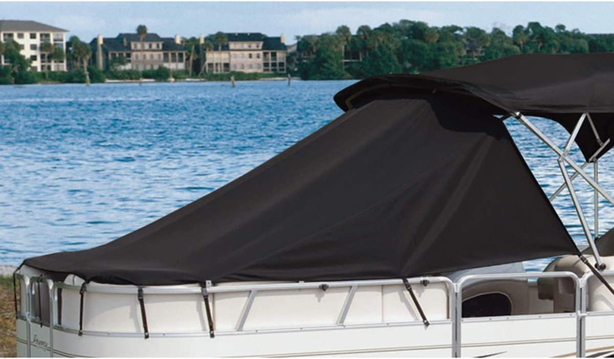 """Taylor Made 70158  White Cover Inflatable Pontoon Boat Tyvek  14/'5/""""-15/'4/"""" x 76/"""""""