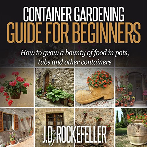 Container Gardening for Beginners audiobook cover art