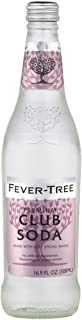 Fever-Tree Premium Club Soda, 16.9 Fl Oz Glass Bottle (8 Count)