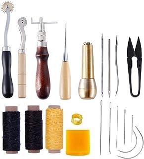 Kit de Gravure sur Cuir Ensemble D'outils d'art en Cuir Articles De Maroquinerie Faits à La Main Ensemble D'outils en Cuir...