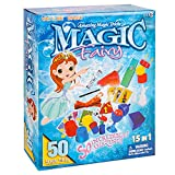 klikko Magic Kit Magician Tricks Set, Suitcase Include Prank Magic Card, Wand, Ball for Kids Age 6 Years Old and Up, Easy Magic Performance Toys Gift for Teen Boy Girl