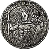 1889 Guerrero Fighters recuerdo monedas coleccionables antiguo 3D...
