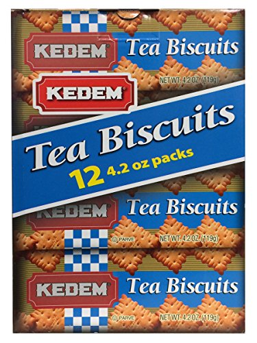 Kedem Tea Biscuits (Plain, 12 Pack)
