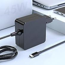 45W USB C Cargador Adaptador portátil Tipo Compatible con MacBook Pro, Mac Book Pro Cargador portátil PD para Switch, Sams...