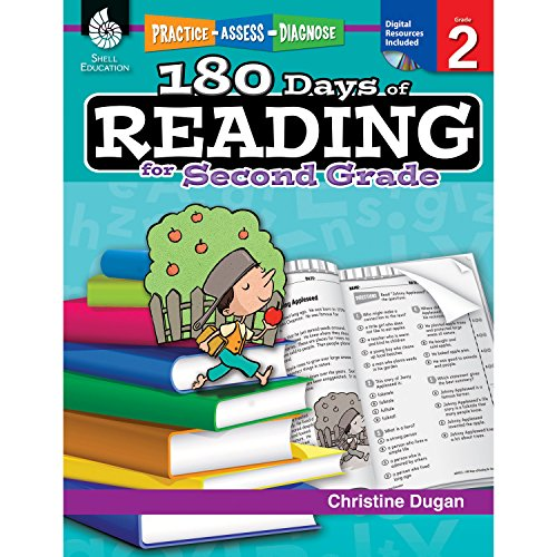 180 Days of Reading: Grade 2 - Daily Reading Workbook for Classroom and Home, Reading Comprehension and Phonics Practice, School Level Activities Created by Teachers to Master Challenging Concepts (English Language Arts Literacy Unit 1 Answers)