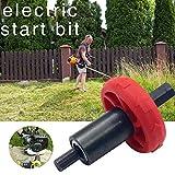 liuxi9836 Adaptador de broca de motor eléctrico Arrancador de motor Arrancador de cortacésped Arrancador Adaptador para recortadores de hilo Sopladoras y cultivadores de hojas opportune