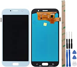 HYYT Replacement for Samsung Galaxy A7 2017 A720 A720F SM-A72 LCD Display and Touch Screen Digitizer Glass Replacement Assembly (Blue)