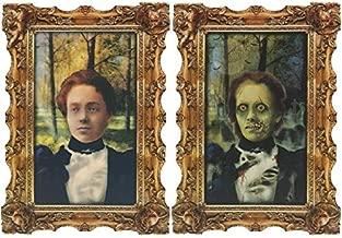 Girl Zombie Lenticular Portrait | Halloween Decor
