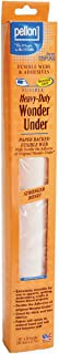 Pellon Heavy-Duty Wonder-Under-Paper-Backed fusible Web w/Double Adhesive, Each, White