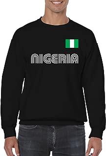 SpiritForged Apparel Nigeria Soccer Jersey Crewneck Sweater