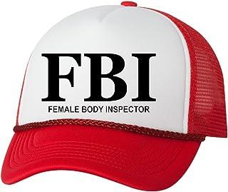4799825e7e7 Rogue River Tactical Funny FBI Hat Female Body Inspector Baseball Cap Retro  Vintage Joke Trucker