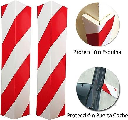 e4b7791350dc LETACAR Protector Paragolpes Coche, 40 * 15 cm Protector Columnas Garaje,  Protección para Parachoques