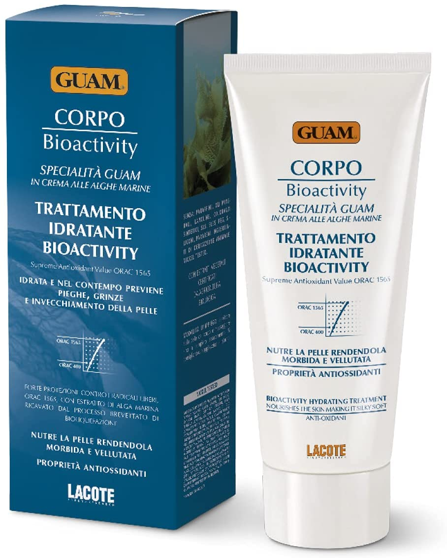 GUAM Cream Brand Cheap Sale Venue body Moisturizer prevents wrinkles New color BioActivity 200ml