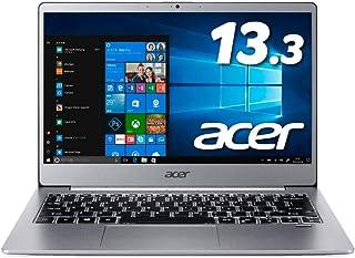 Acerノートパソコン Swift3 SF313-51-A58U/F Core i5-8250U/8GB/256GB SSD/13.3型/Windows 10/Office H&B2019